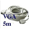 Cáp VGA 5 mét Bảo hành: 12 tháng
