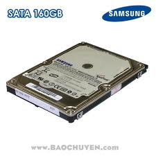 Samsung – 160GB – 8MB cache – 5400rpm – SATA 2 – for laptop: 400.000 VND