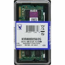 RAM LAPTOP 2G. DDR 2. BUSS 667/800  Kingston chính hãng bảo hành 36 tháng.