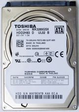 HDD Toshiba 320GB/7200 rpm Sata For Laptop