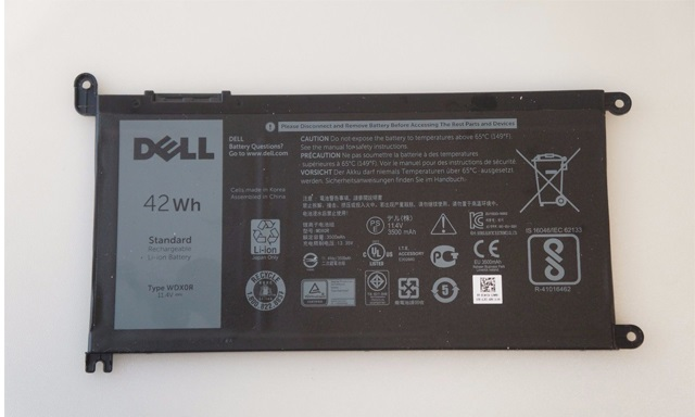 Pin dell vostro 3480, 4Cell, Original