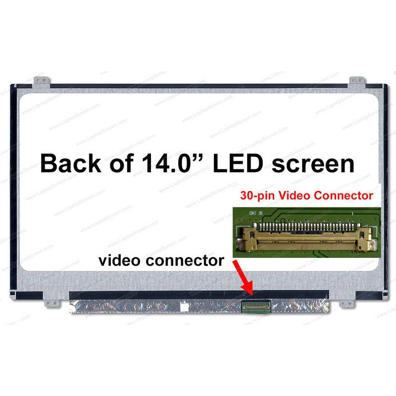 Màn hình 14.0 led mỏng 30 chân lắp cho laptop
