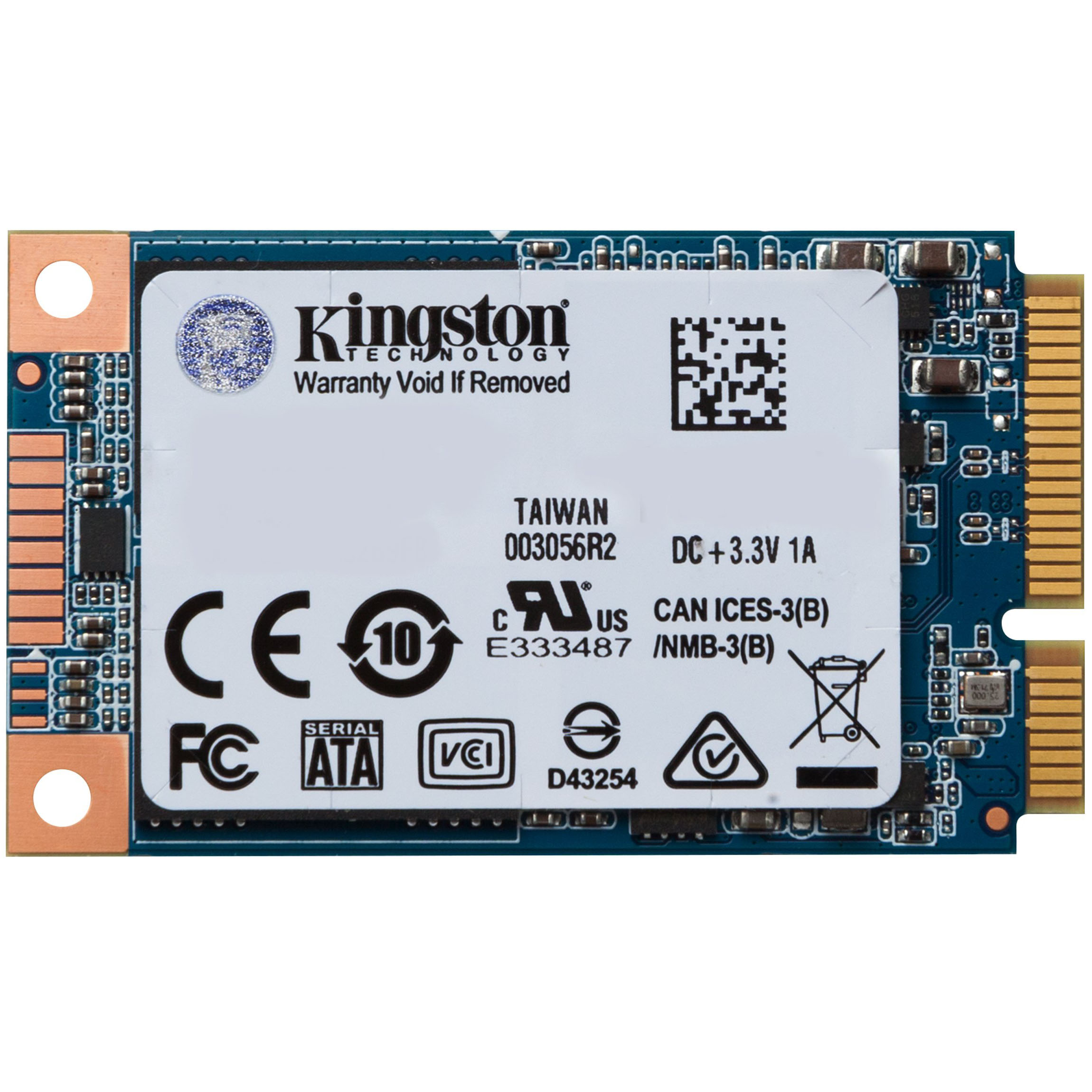 Ổ cứng SSD mSATA 256GB Kingston MS180